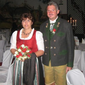 Monika & Ludwig Fischer, Altaussee am 18. September 2010